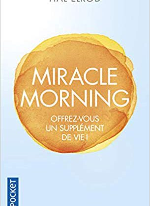 Miracle Morning - 1ère de Couverture